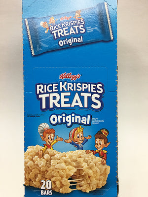 Kellogg's Rice Krispies Treats Original 20 Bars / Regular Size