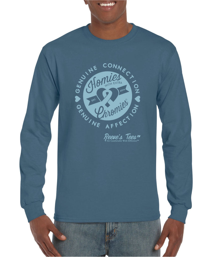 HWEC - Homies with Extra Chromies - Adult - Long Sleeve Tee