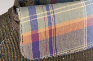 THE NUSS Yarn Dyed Twill with Madras Plaid - Keep Company  - 2