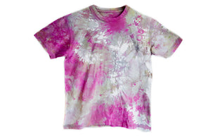 CRYSTAL DYED LOGO TEE Purple Haze - Keep Company  - 2