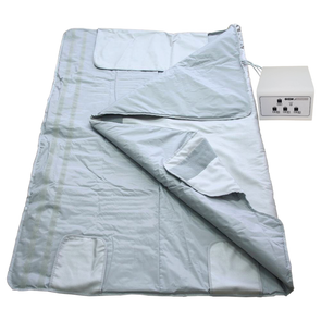 Gizmo Supply Digital Far-Infrared (FIR) Heat Sauna Blanket with 3 Zone Controller 220V