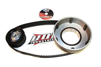 "79-84 big twin Shovelhead BDL 1.5"" 8mm open kick only Belt Drive primary"
