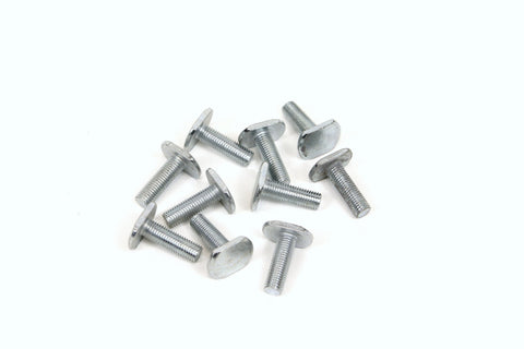 10 PK Exhaust & Muffler Mounting Hardware - T Bolts