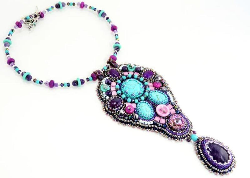 unique beaded necklace