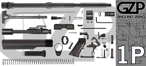 "16"" .223 / 5.56 Wylde Carbine AR-15 Project Kit (1P) - No Upper"