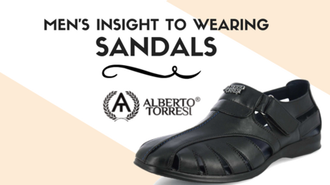 Men's Insight to Wearing Sandals