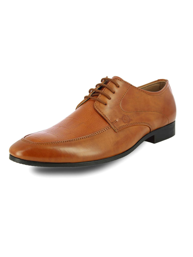 Alberto Torresi Men'S Bethany Tan Formal Shoes