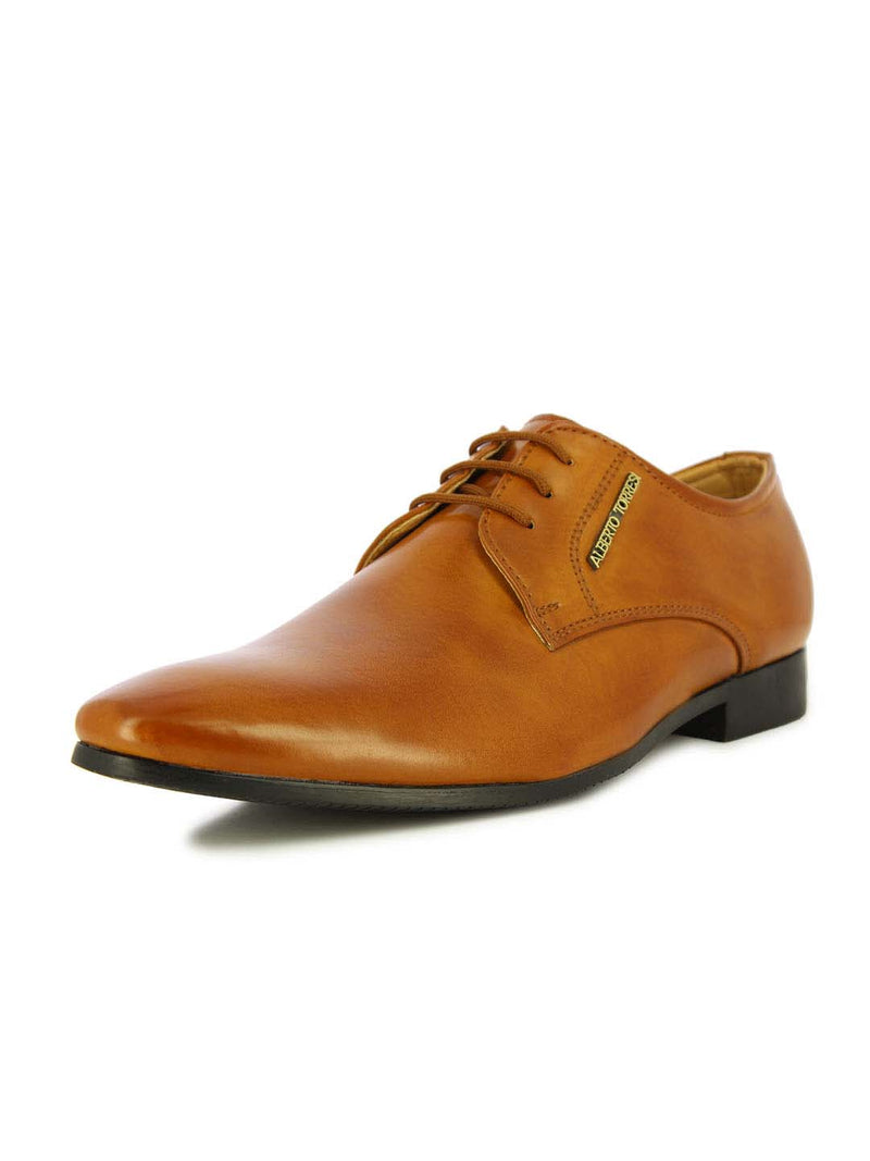 Alberto Torresi Men's Colmar Tan Oxford Shoes
