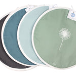Dandelion Aga Covers In Teal - Pair - Zed & Co