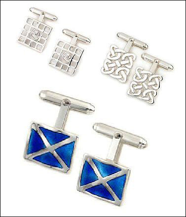 Scottish Cufflinks