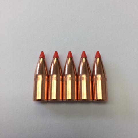 HORNADY 55 GR V-MAX BULLETS (.224 DIA) 22 CALIBER WITH CANNELURE