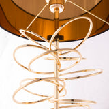 JACOPO - Luxury Table Lamp, Black Shade Gold Finish Glamour Table Lamp-Table Lamp-Belle Fierté