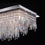 Irene - Luxury Flush Ceiling Light, Elegant Crystal Chandelier-Ceiling Lamp-Belle Fierté