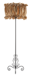 Agathe - Golden Shade Floor Standing Lamp-Floor Lamp-Belle Fierté