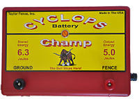Cyclops Champ Plug-in Fence Energizer 5 joule