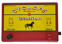Cyclops Stallion Plug-in Fence Energizer 2.5 joule