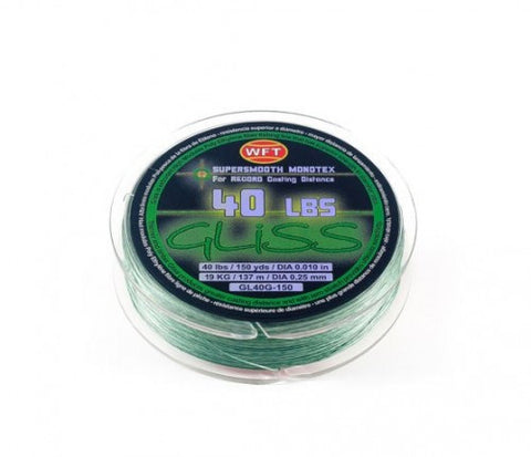 Gliss Supersmooth Monotex Line Green - Angler's Headquarters