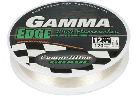Gamma Edge Fluorocarbon Line (Clear) - Angler's Headquarters