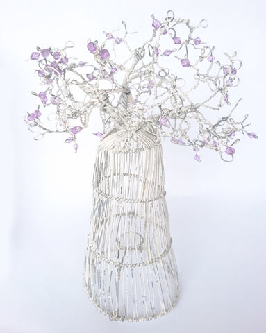 Beaded Baobab Wire Trees, The Wireman, Wire Sculptures- The Wild Coast Trading Company