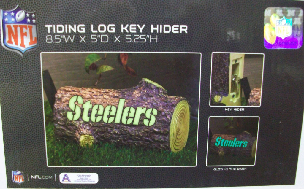 Steelers Tiding Log Key Hider