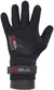 GUL - NEOPRENE DRY 2.5MM - BLACK/RED