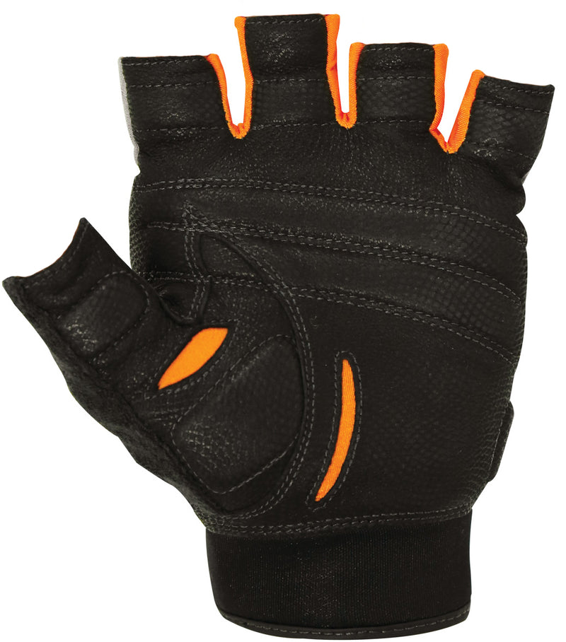Bionic - Cross Training Half Finger - White/Black/Orange