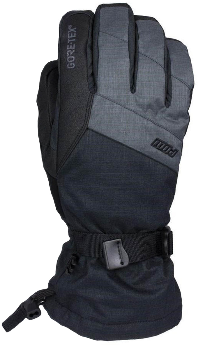 POW - Warner Short Glove - Charcoal