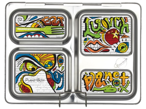 Launch Lunchbox Magnets - Graffiti