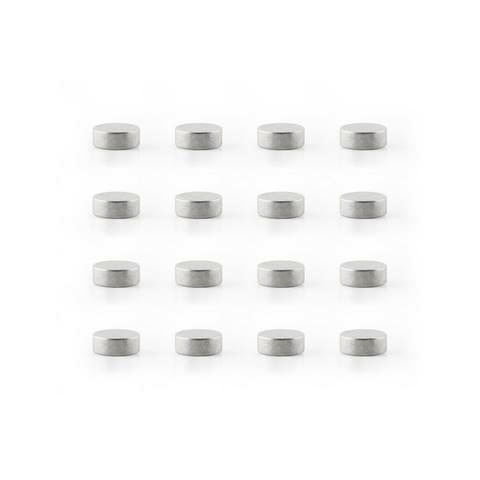 Mighties Magnets - Silver 16 Pack