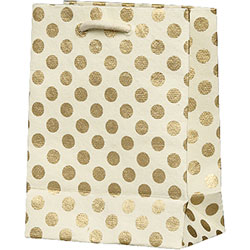 Gold Dots Small Bag