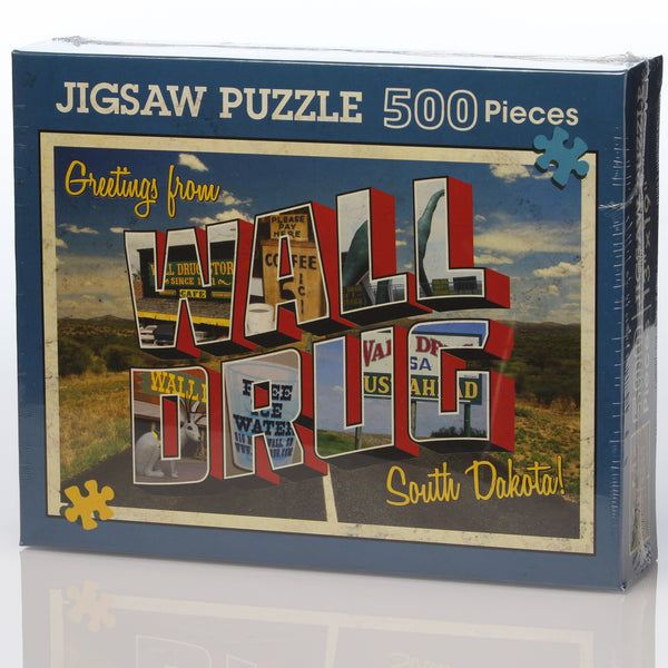Greetings from Wall Drug Puzzle
