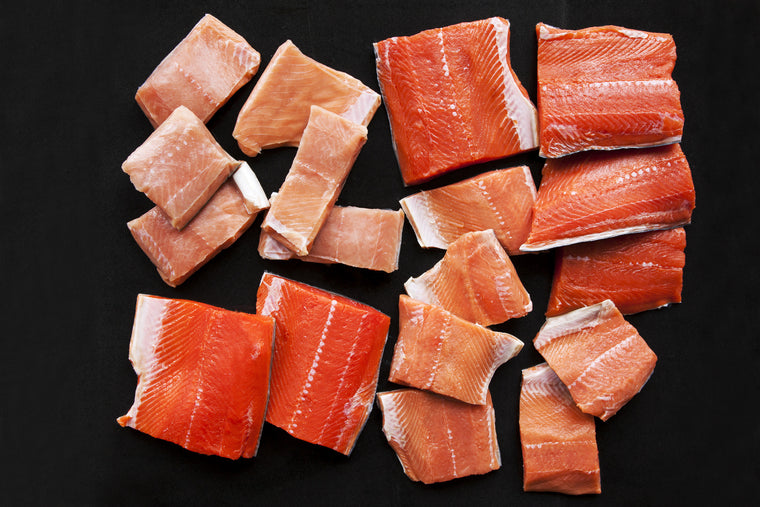 Wild Salmon Fillet Sampler - 60 Pieces - Loki Fish Company