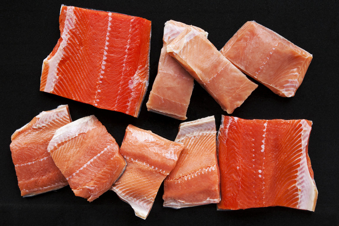 Wild Salmon Fillet Sampler - 30 pieces - Loki Fish Company