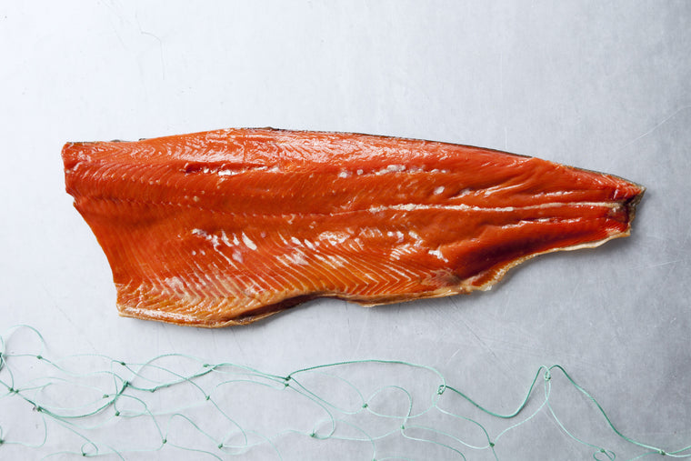 Smoked Wild Coho Salmon Whole Side Fillet - Loki Fish Company