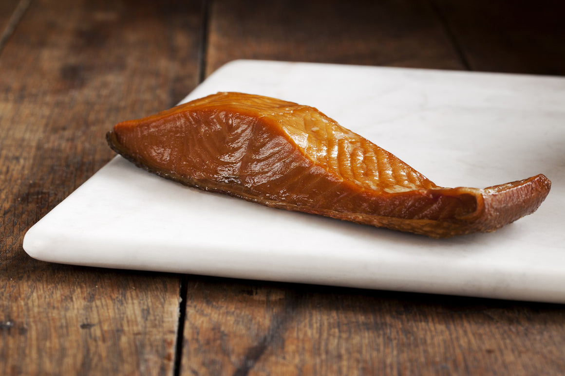 Smoked Wild Keta Salmon Portions - Loki Fish Company