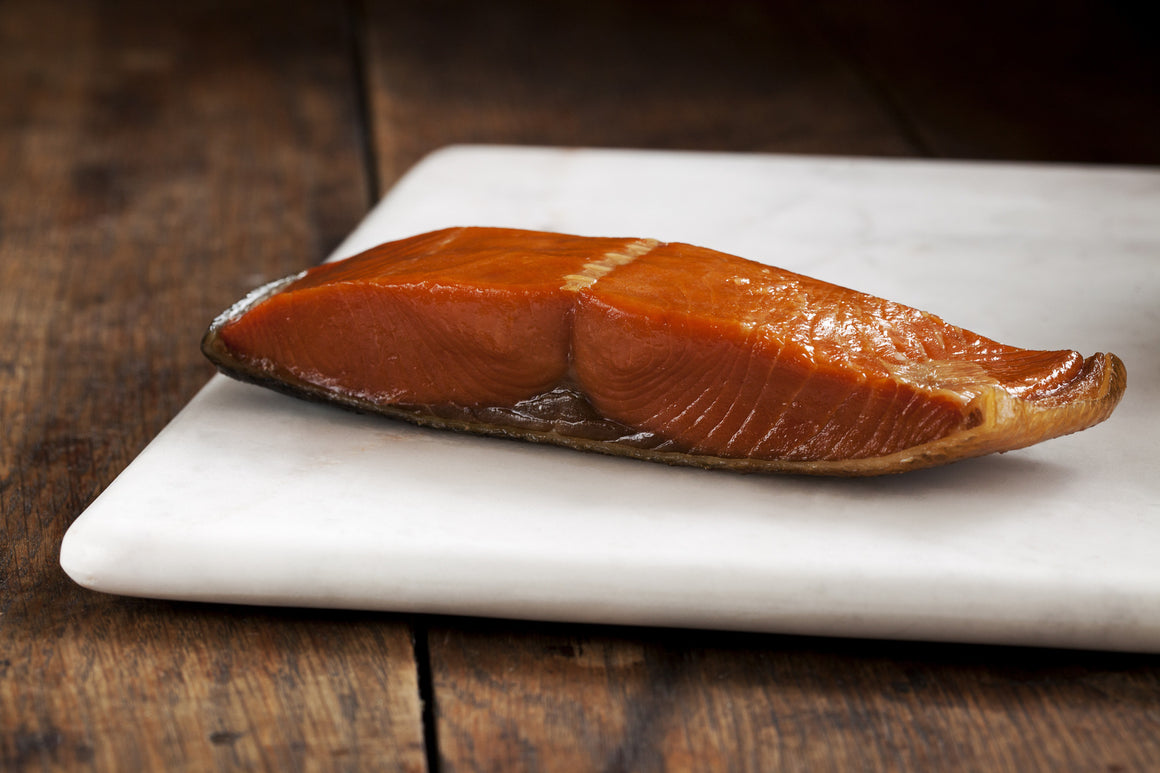Smoked Wild King Salmon Portions - Loki Fish Company