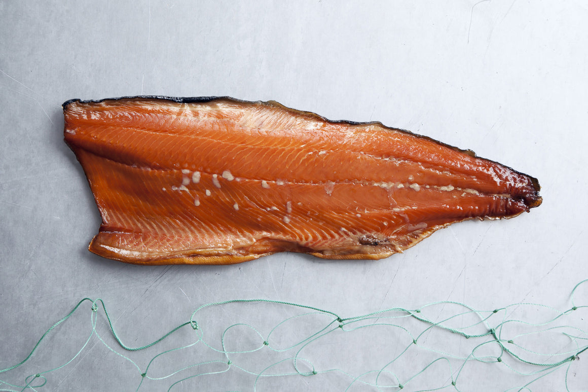Smoked Wild Pink Salmon Whole Side Fillets - Loki Fish Company