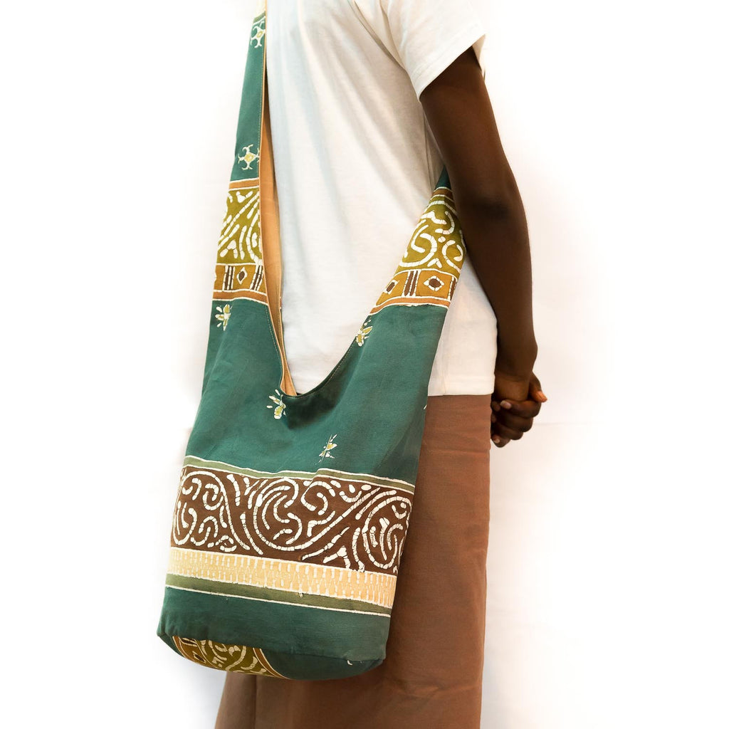 Contemporary Sling Bag made in Africa