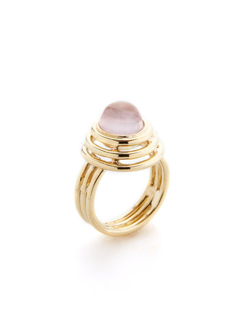 Yellow Gold Kong Ring