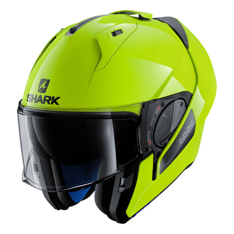 SHARK Helmets EVO-ONE 2 Hi-Visibility - Neon yellow - Open