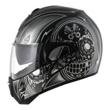 SHARK Helmets EVOLINE SERIES 3 Mezcal Chrome Black / Silver