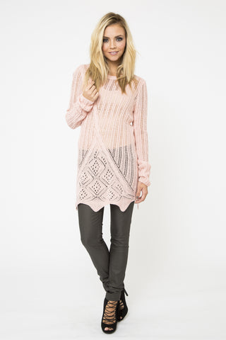 Alicia Pointelle Sweater