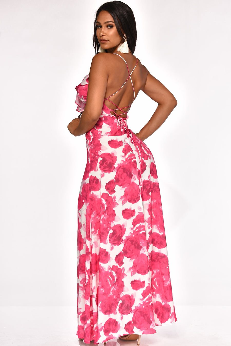 HOPELESSLY IN LOVE MAXI DRESS