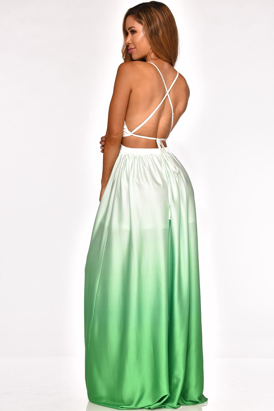 LEAVE YOU MESMERIZED MAXI DRESS