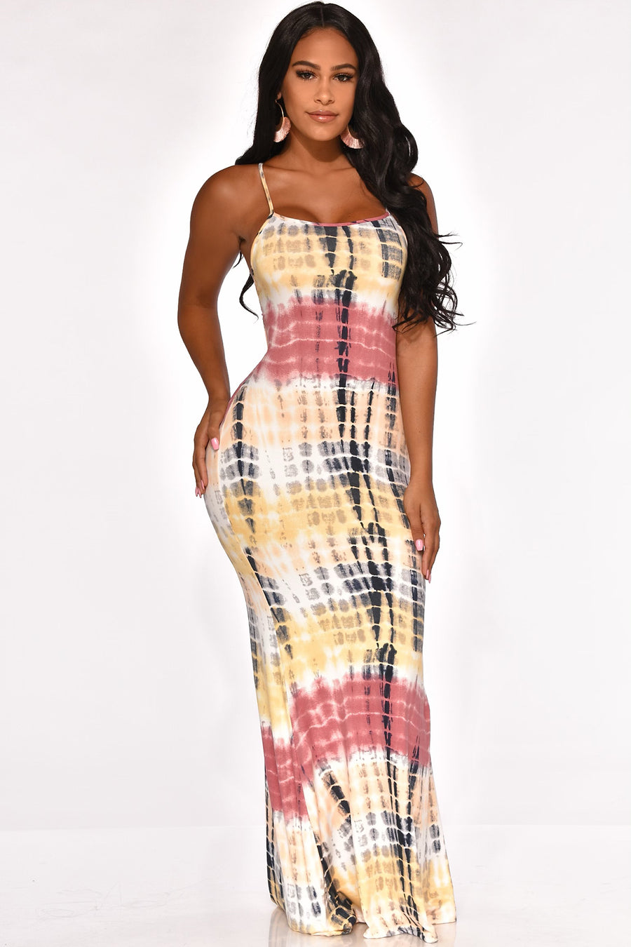 PARTY ON DECK MAXI DRESS