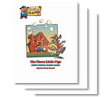 The Three Little Pigs - Student Workbooks (minimum of 20)