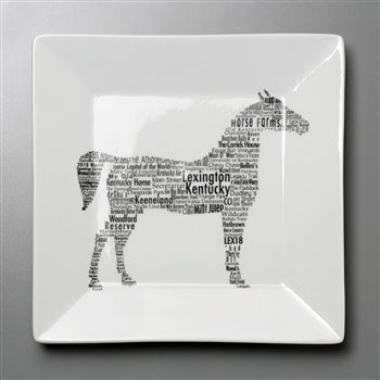 "10.75"" LEXINGTON HORSE PLATE"