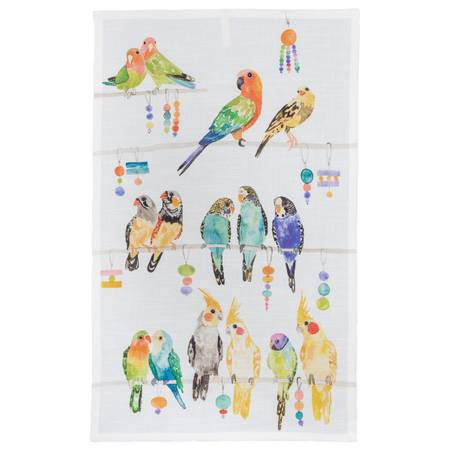 BIRD HOUSE TEA TOWEL