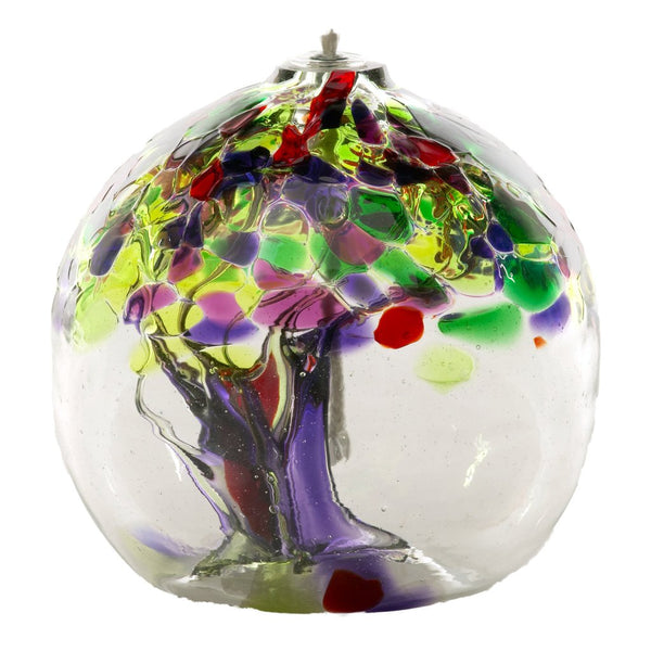 "6"" TREE OF ENCHANTMENT OIL LAMP - LIFE"