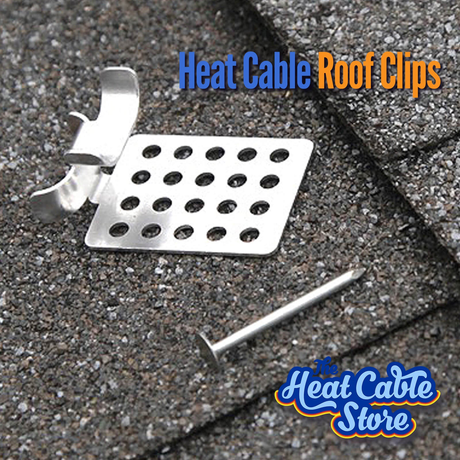 Heat Cable Roof Clips